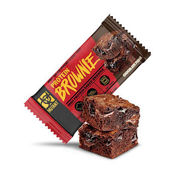 Протеиновый батончик Mutant Protein Brownie 58 грамм Шоколад