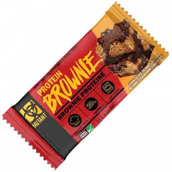 Протеиновый батончик Mutant Protein Brownie 58 грамм Шоколад арахисовая паста