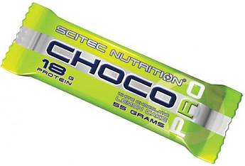 Протеиновый батончик Scitec Nutrition Choco Pro 55 грамм Белый шоколад лимон