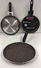 Сковорода млинна мармур покриття 24см BN-509 (12)