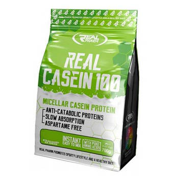 Казеин Real Pharm Real Casein 700 грамм Шоколад орех
