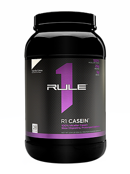 Казеин R1 (Rule One) Casein 924 грамм Ванильный крем