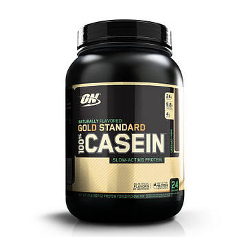 Казеин Optimum Nutrition 100% Gold Standard Casein Natural 907 грамм Шоколадный Крем