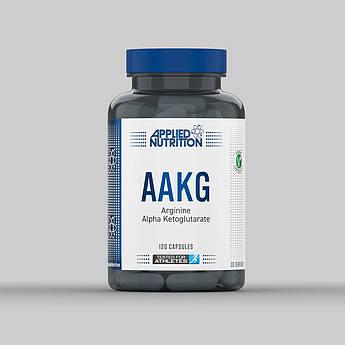 L-аргинин альфа-кетоглютарат Applied Nutrition AAKG 120 капсул