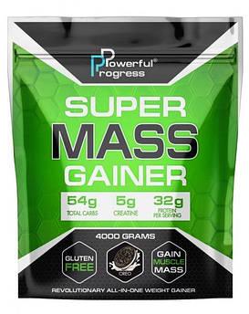 Купити для набору маси Powerful Progress Super Mass Gainer 4000 грам Орео