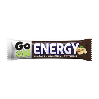 Протеиновый батончик GoOn Nutrition Energy Bar 50 грамм Арахис карамель шоколад
