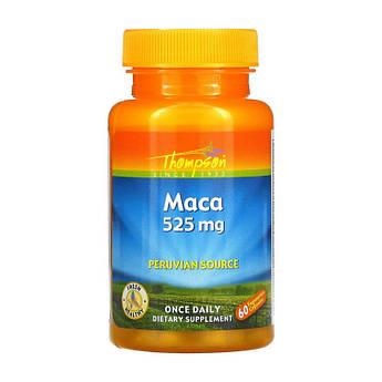 Екстракт MACA Thompson Maca 525 mg 60 капсул