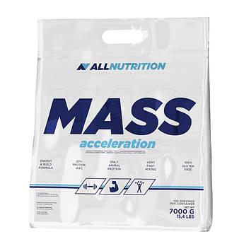 Купити для набору маси AllNutrition Mass Acceleration 7000 грам Полуниця