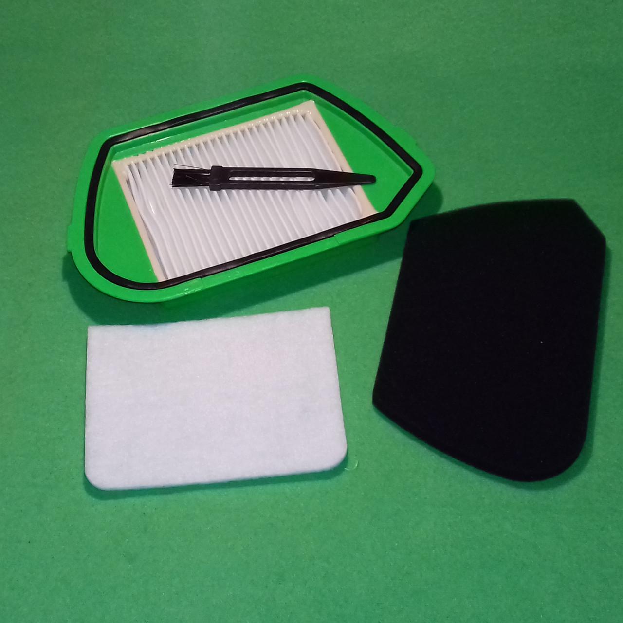 Набор фильтров: HEPA + поролоновый (фильтр контейнера) + фильтр мотора + щеточка для пылесоса Rowenta