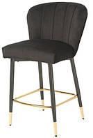 Барний стілець Vetro Mebel B-126 чорний