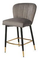 Барний стілець Vetro Mebel B-126 сірий