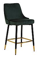 Барний стілець Vetro Mebel B-128 смарагдовий