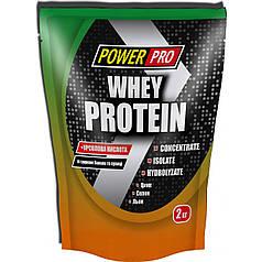 Протеїн Power Pro Whey Protein 2кг, банан/суниця