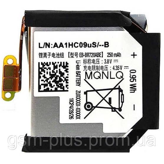 Аккумулятор samsung galaxy gear s2 sm-r720, gear s2 classic sm-r732, eb-br720abe (250mah)