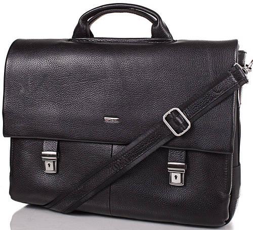 Стильный мужской кожаный портфель DESISAN (ДЕСИСАН) SHI1315-2
