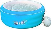 Аэромассажный мини бассейн СПА Lay-Z-Spa Bestway 54100 ( 206х71 см)  цвет — голубой