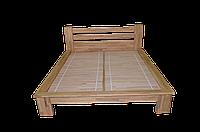 """Ліжко """"ПРОЗА"""", дуб, прозорий 2000×1800"""