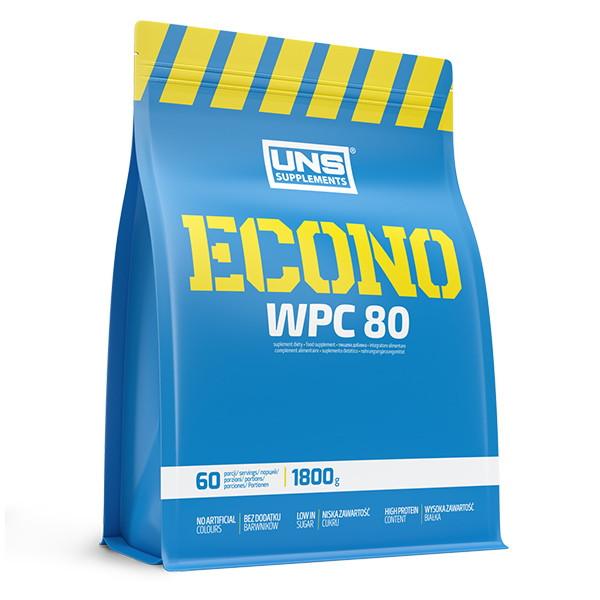 Протеин UNS Econo Instant, 1.8 кг Клубника