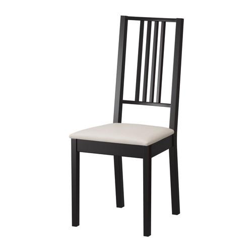 Стілець буковий з м`яким сидінням, чорний (венге)