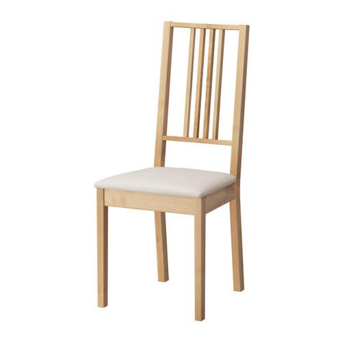 Стілець буковий з м'яким сидінням, прозорий