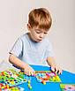 Конструктори, пазли, мозаїка - оптом - ZB2002-р - Яскрава і безпечна дитяча гра дерев'яна Мозаїка з, фото 4