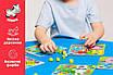 Конструктори, пазли, мозаїка - оптом - ZB2002-р - Яскрава і безпечна дитяча гра дерев'яна Мозаїка з, фото 5