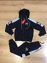 Спортивний костюм комбінований PUMA //M3 юніор школа хлопчик 12-16 років купити оптом зі складу 7км Одеса