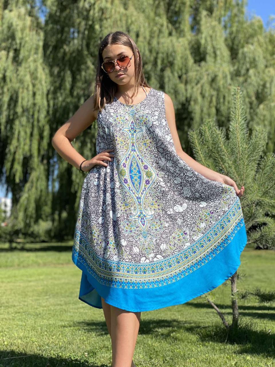 Женское летнее платье Индия