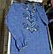 Рубашка Вышиванка для мальчика льняная короткий рукав р.140 -176, фото 4