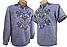 Рубашка Вышиванка для мальчика льняная короткий рукав р.140 -176, фото 8