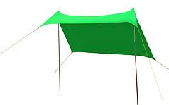 Тент пляжный зеленый GreenCamp 1046