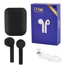 Бездротові Bluetooth-навушники TWS i31-5.0. Колір: чорний