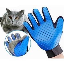 Рукавички для чищення тварин Pet Gloves