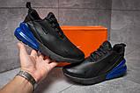 Кросівки чоловічі 14021, Nike Air 270, чорні [ 44 ] р.(44-27,5 см), фото 2