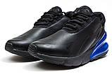 Кросівки чоловічі 14021, Nike Air 270, чорні [ 44 ] р.(44-27,5 см), фото 7