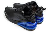 Кросівки чоловічі 14021, Nike Air 270, чорні [ 44 ] р.(44-27,5 см), фото 8