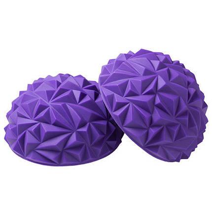 """Балансировочная полусфера """"риф"""" фиолетовая 1шт, фото 2"""