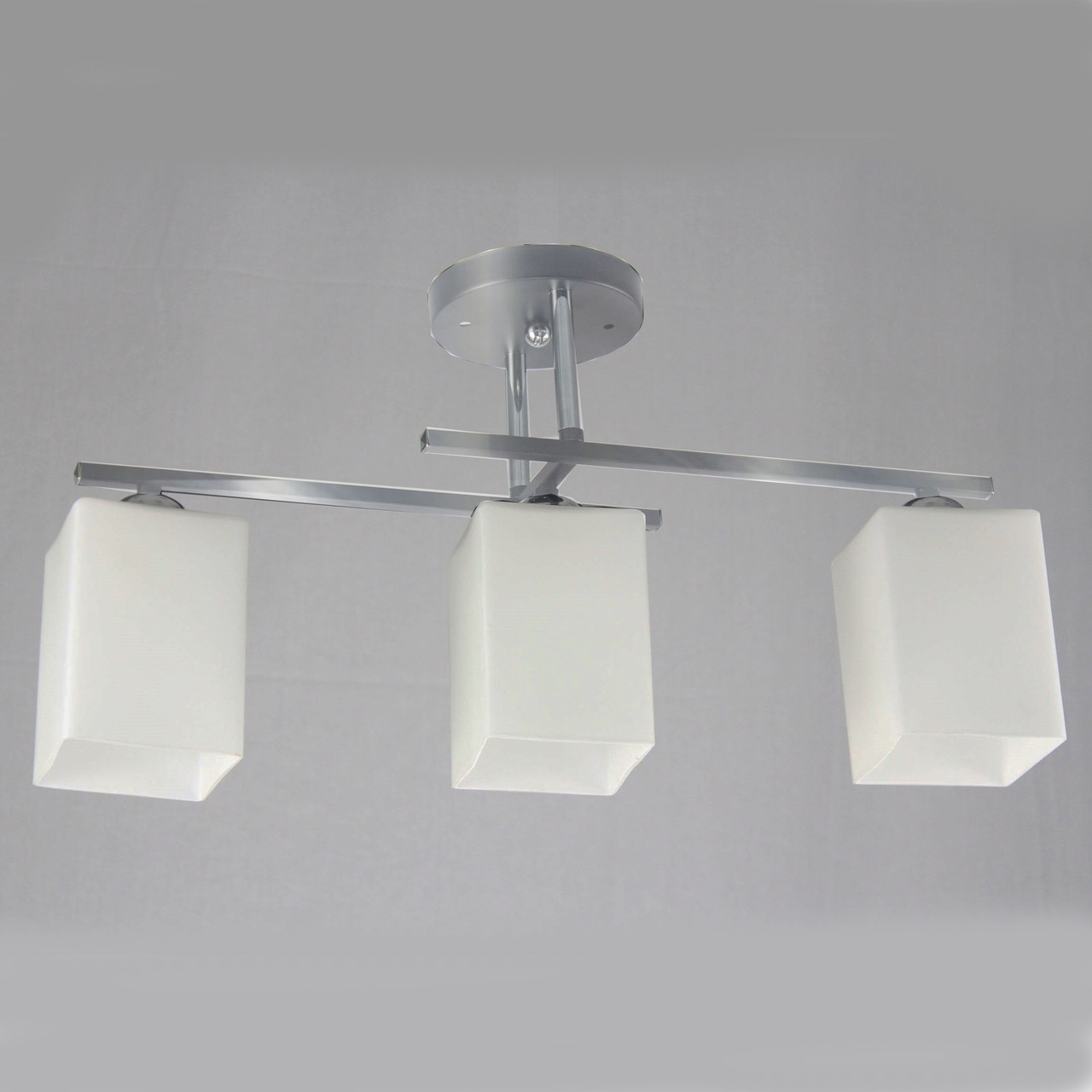 Люстра потолочная на 3 лампы 29-C466/3 CR+WT