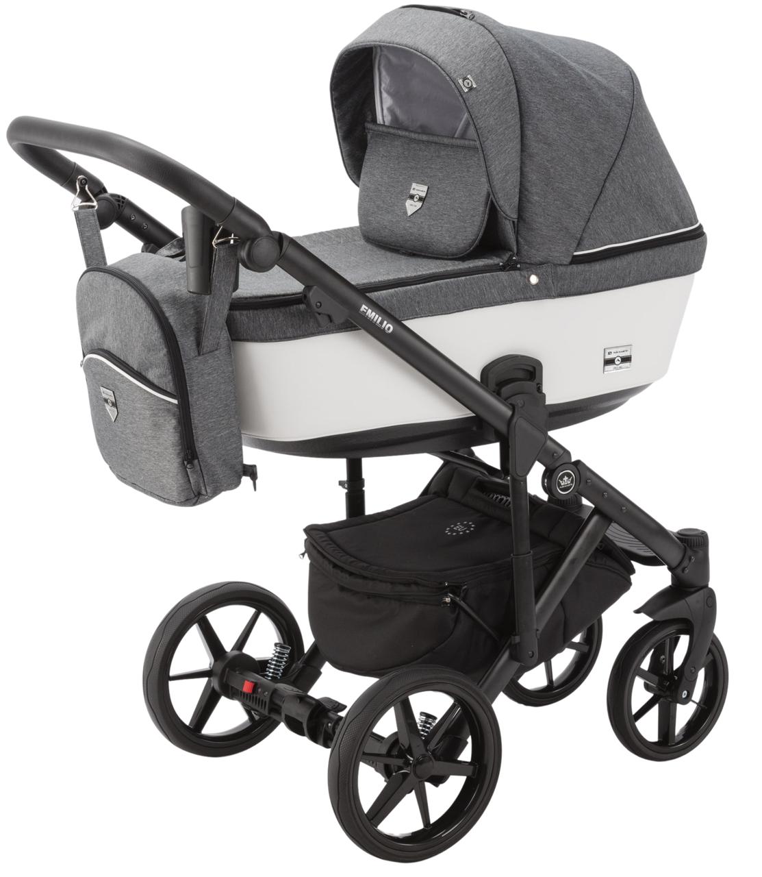 Дитяча універсальна коляска 2 в 1 Adamex Emilio EM-241