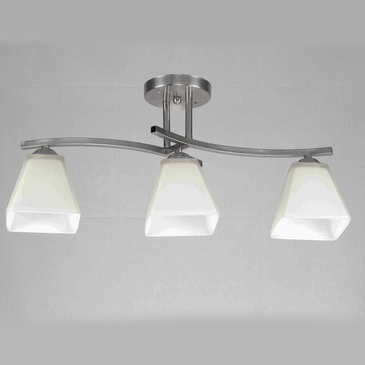 Люстра потолочная на 3 лампы 29-A540/3 CR+WT