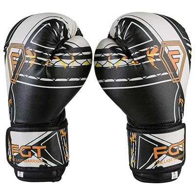 Боксерські рукавички білі 8 oz Everlast DX-2218