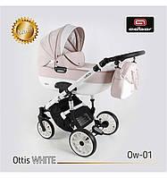 Дитяча універсальна коляска Adbor OTTIS 3 в1.WHITE OW-01