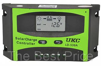 Контролер для сонячної батареї UKC LD-530A 30A (2817)