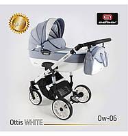 Дитяча універсальна коляска Adbor OTTIS 3 в1.WHITE OW-06