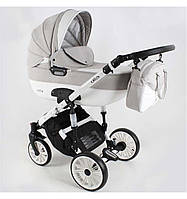 Дитяча універсальна коляска Adbor OTTIS 3 в1.WHITE OW-03