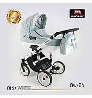 Дитяча універсальна коляска Adbor OTTIS 2 в1.WHITE OW-04, фото 1