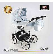 Дитяча універсальна коляска Adbor OTTIS 3в1.WHITE OW-05
