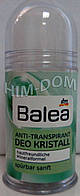 Дезодорант- антиперспирант Balea солевой Кристалл 100 мл.  Балеа антипреспиранд 100мл