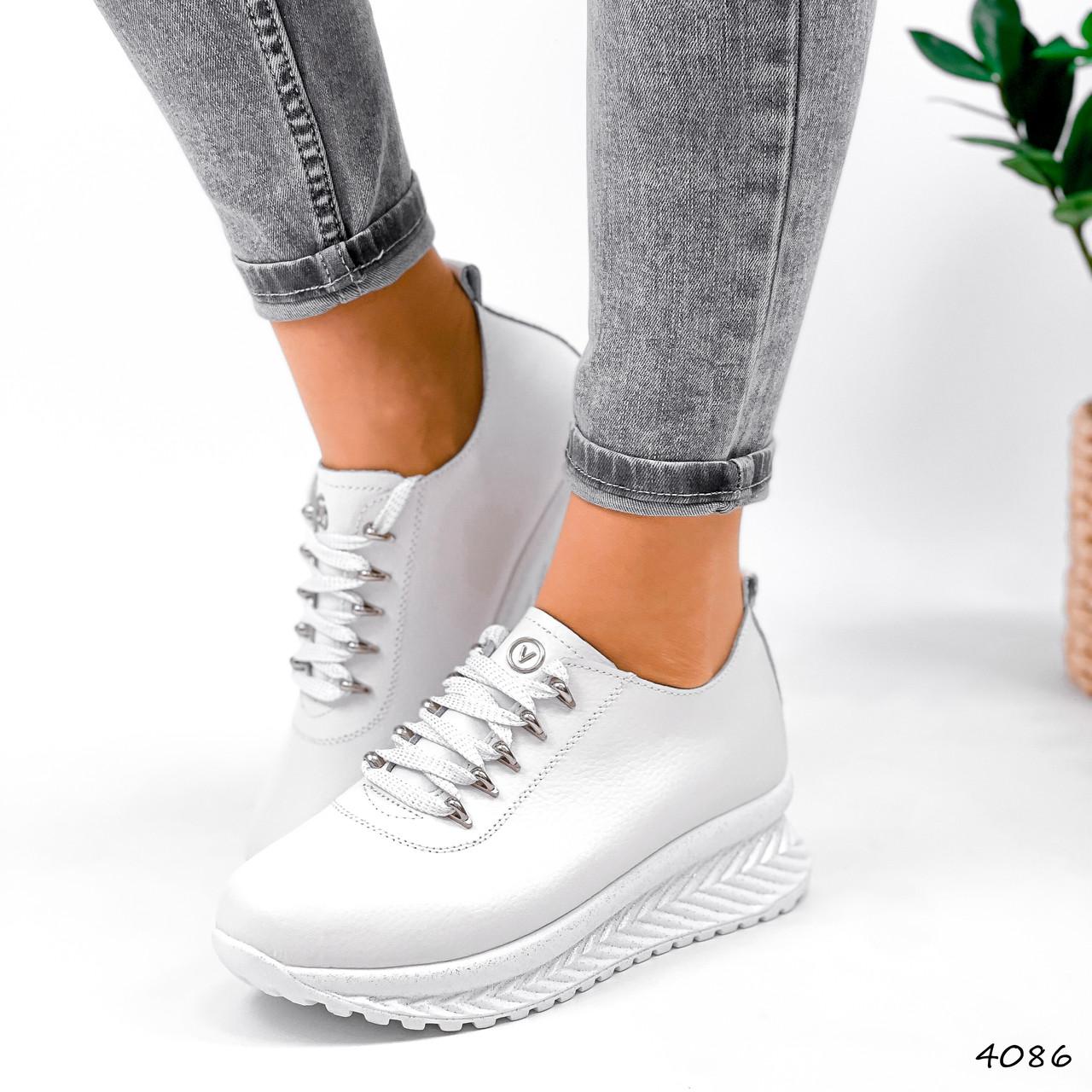 Кросівки жіночі Morus білі 4086