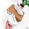 Кросівки жіночі Morus білі 4086, фото 8